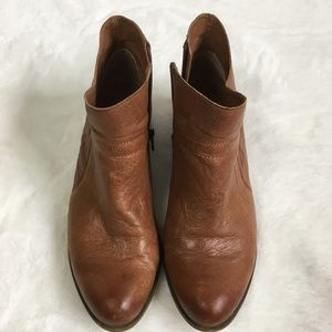 Lucky Brand  Brolley Tan Leather Booties Size: 9